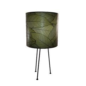 Metal Tripod Drum Table Lamp